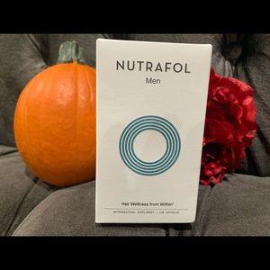 Nutrafol Men. Hair wellness.